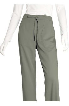 tall: Grey's Anatomy Women's Junior 4-Pocket Elastic Back Solid Scrub Pants
