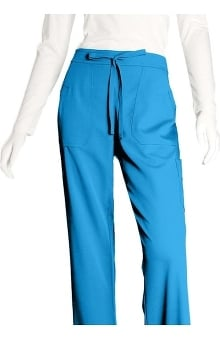 tall: Grey's Anatomy Women's Junior 4-Pocket Elastic Back Scrub Pants