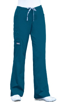 tall: ICU by Barco Uniforms Women's Junior 3 Pocket Elastic Back Cargo Pant