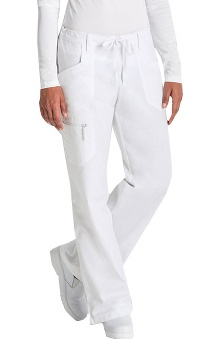 tall: Prima by Barco Uniforms Women's Cargo Scrub Pant With Tie Front