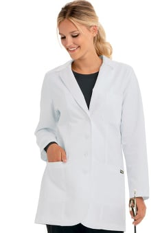 "dental : Grey's Anatomy Women's Junior Embroidered 32"" Lab Coat"