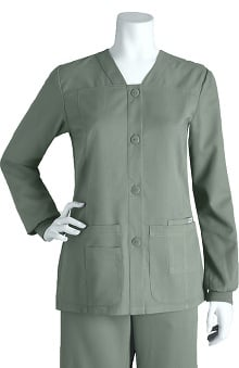 Grey's Anatomy&trade Women's Sporty Button Front Jacket