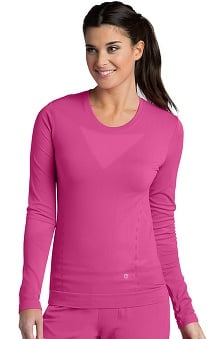 Barco ONE Women's Seamless Long Sleeve Knit T-Shirt