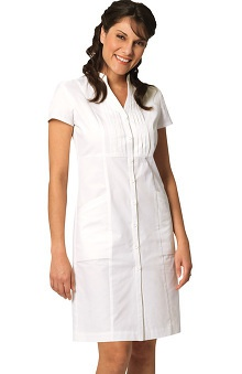 Prima by Barco Uniforms Women's Pintuck Scrub Dress