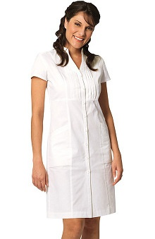 Clearance Prima by Barco Uniforms Women's Pintuck Scrub Dress