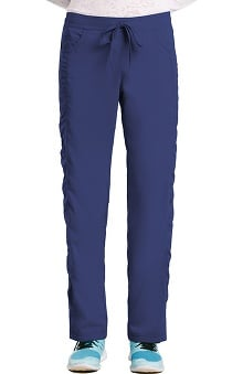 KD110 Women's Shirred Side Drawstring Scrub Pant