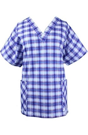 Clearance Barco Uniforms Women's Wesley Print Scrub Top