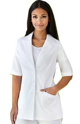 Clearance Verite by Barco Women's Perla Lapel Solid Scrub Jacket