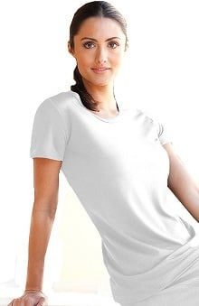 Verite by Barco Women's Tria Spa Short Sleeve Solid T-Shirt