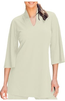 Clearance Verite by Barco Women's Alessa Moroccan Tunic Solid Scrub Top