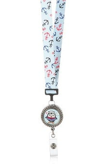 ID Avenue Ribbon Lanyard With Badge Reel