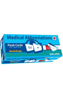 Bar Charts Medical Abbreviations Guide