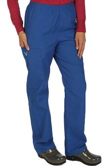 Boulevard Scrubs Women's Elastic Waistband 2 Pocket Scrub Pant