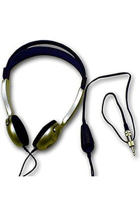 Cardionics Extra Headphones For The E-Scope II Electronic Amplified Stethoscope