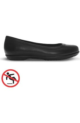 Clearance Crocs Shoes at Work Women's Grace Flat Shoe
