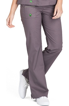 tall: Crocs Uniforms Women's Felicia Flare Leg Solid Scrub Pant