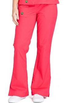 Clearance Crocs Uniforms Women's Felicia Flare Leg Solid Scrub Pant