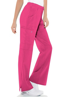 tall: Perfect Stretch by Cherokee Women's Flare Leg Cargo Scrub Pant