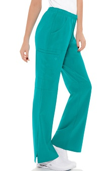 Clearance Perfect Stretch by Cherokee Women's Flare Leg Cargo Scrub Pant