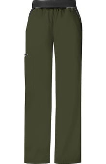 tall: Cherokee Flexibles Women's Cargo Scrub Pants