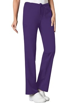 XXS: Luxe by Cherokee Women's Solids Drawstring Pant