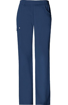 Scrubs: Luxe by Cherokee Women's Solids Cargo Pull-On Pant