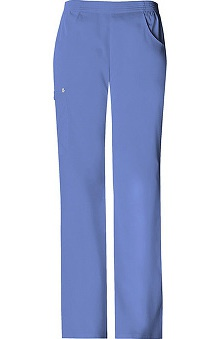 Luxe by Cherokee Women's Solids Cargo Pull-On Scrub Pant