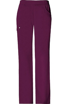 Clearance Luxe by Cherokee Women's Solids Cargo Pull-On Scrub Pant
