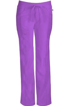 Clearance Infinity by Cherokee with Antimicrobial Certainty Women's Rib Knit Drawstring Waist Scrub Pants