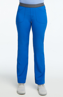 Infinity by Cherokee with Antimicrobial Certainty Women's Rib Yoke Waist Pull On Scrub Pants