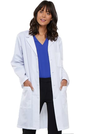 "Cherokee Unisex Vented Back 40"" Lab Coat"
