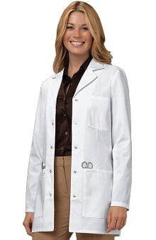 "labcoats: Cherokee Women's Snap Front Princess Seam 32"" Lab Coat"