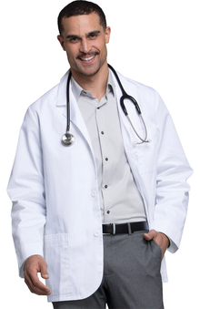 "Cherokee Men's Consultation 31"" Lab Coat"