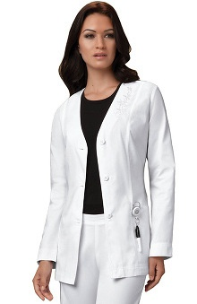 "Cherokee Women's Cardigan 29"" Lab Coat"