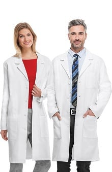 Professional Whites by Cherokee with Antimicrobial and Fluid Barrier Certainty Plus Women's Notched Neck 40