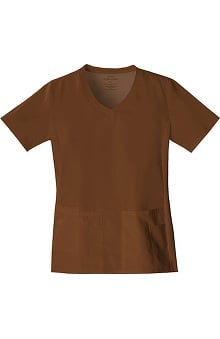 catplus: Flexibles by Cherokee Women's V-Neck Solid Top