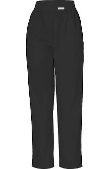 Clearance Cherokee Women's Boxer Pull-On Elastic Waist Scrub Pants