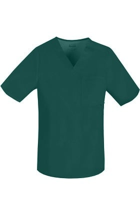 Clearance Luxe by Cherokee Men's  V-Neck Scrub Top