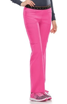 Break On Through by heartsoul Women's BFF Mid Rise Cargo Scrub Pant