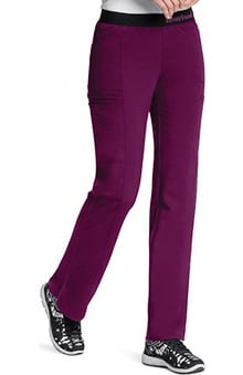 Head Over Heels by heartsoul with Certainty Antimicrobial Fabric Technology Women's So In Love Pull On Scrub Pant