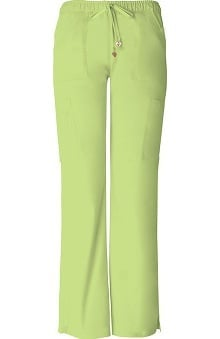 Clearance Picture Perfect by Heartsoul Women's Charmed Low Rise Cargo Scrub Pant