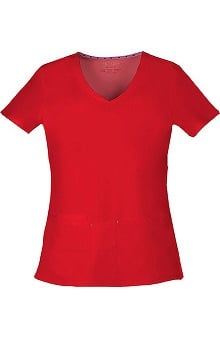 Shine On! by heartsoul Women's True Love V-Neck Solid Scrub Top