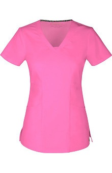 Picture Perfect by heartsoul Women's Dreamer V-Neck Solid Scrub Top