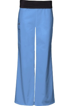 Clearance Flexibles by Cherokee Women's Foldover Waist Boot Cut Scrub Pants