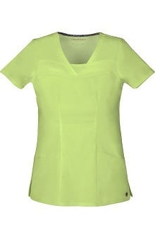 Clearance Picture Perfect by heartsoul Women's Serenity V-Neck Solid Scrub Top
