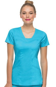 Picture Perfect by heartsoul Women's Serenity V-Neck Solid Scrub Top