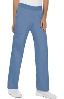 petite: Flexibles by Cherokee Women's Pro Cargo Scrub Pants