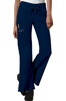 Core Stretch by Cherokee Workwear Women's Junior Flare Leg Scrub Pant