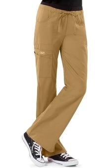 Clearance Core Stretch by Cherokee Workwear Women's Junior Flare Leg Scrub Pant
