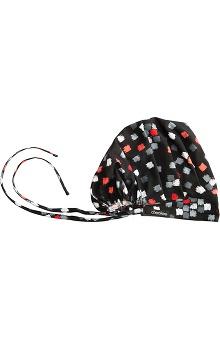Clearance Cherokee Women's Bouffant Print Scrub Hat